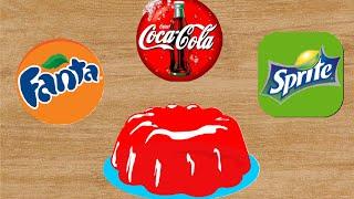Желе из Coca-Cola, Fanta, Sprite своими руками.