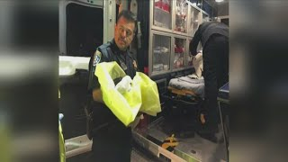 Newspaper driver finds newborn baby in the middle of a Madera County road