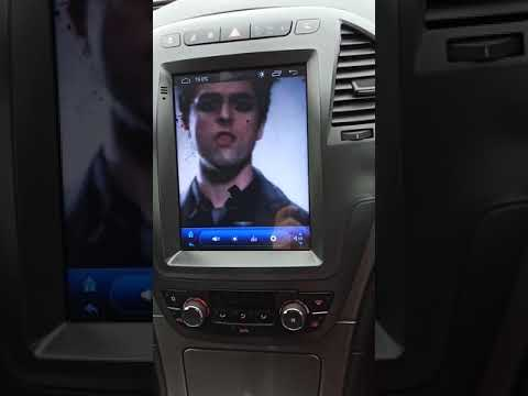 Tesla style Android Insignia Head unit