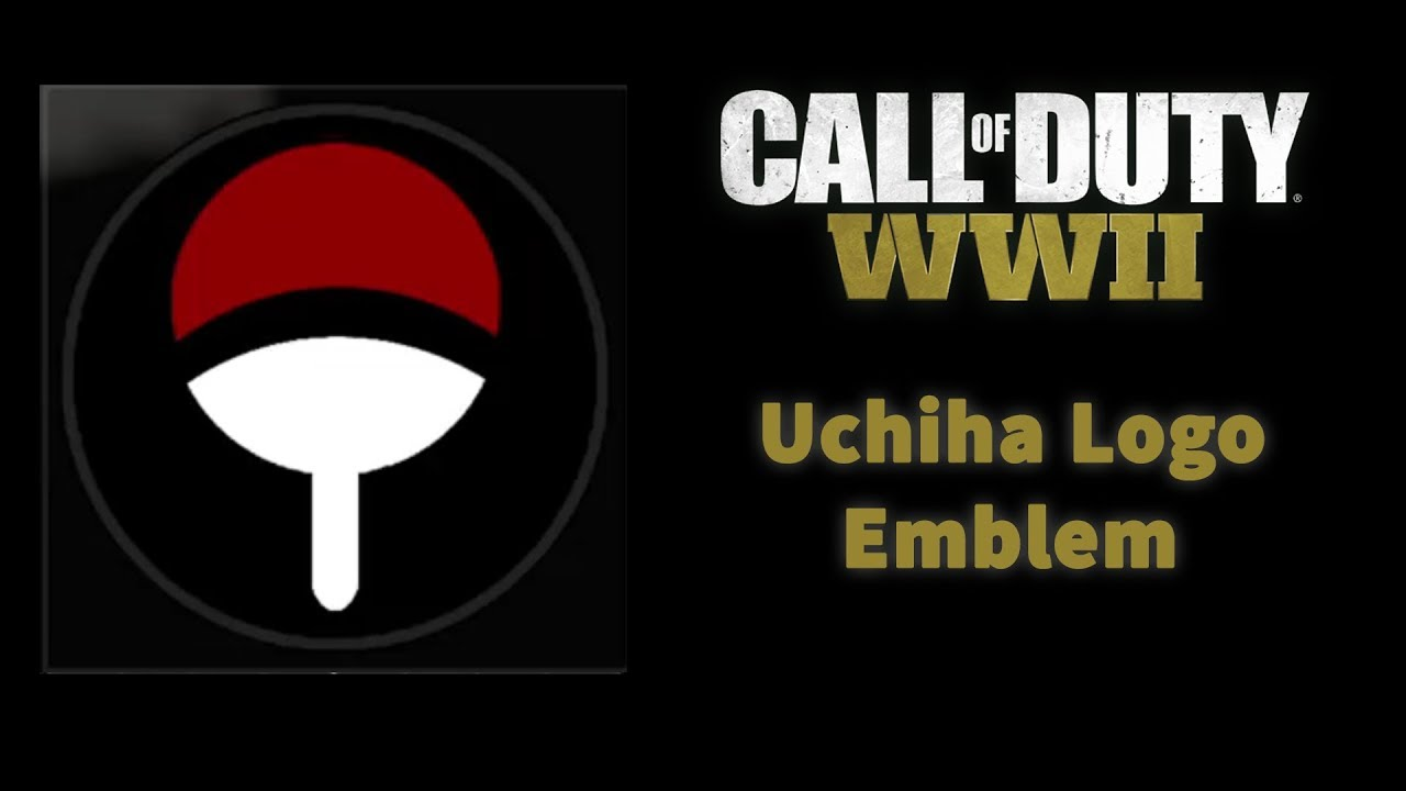 Call Of Duty Ww2 Uchiha Logo Emblem Youtube