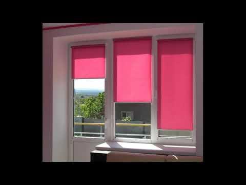 Как почистить/ помыть или постирать/ рулонные шторы в домашних условиях