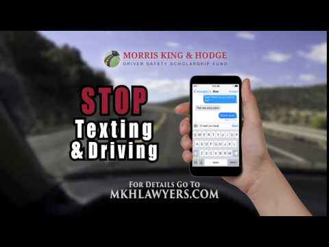 Morris, King & Hodge Driver Safety Scholarship Program