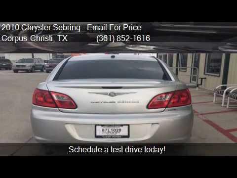 2010 chrysler sebring limited 4dr sedan for sale in corpus for Budget motors corpus christi