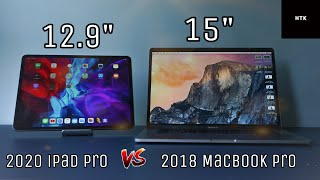 iPad Pro 2020 vs MacBook Pro 2018 ~ Performance Test