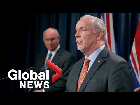 Coronavirus outbreak: B.C. Premier John Horgan extends state of emergency for two weeks | FULL