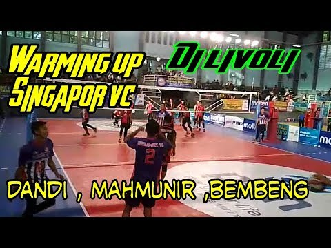 Warming up.!!Singapore ACEH vc di LIVOLI, vs Gorontalo
