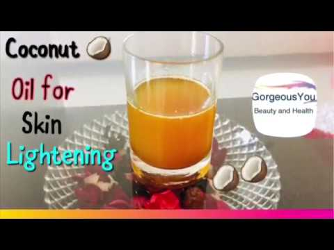 How to use Coconut Oil for Skin Lightening Get Fair Glowing Spotless Skin