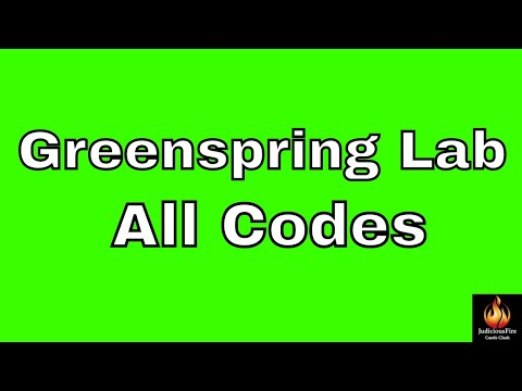 Greenspring Lab Codes August Event In Castle Clash