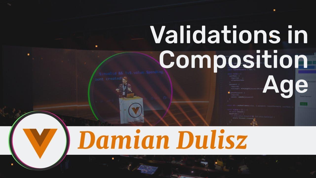 Damian Dulisz - Vuelidate version for Vue 3.0 - Vue.js