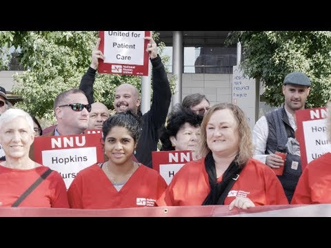 NLRB Finds Johns Hopkins Violating Rights of Nurses Seeking to Unionize