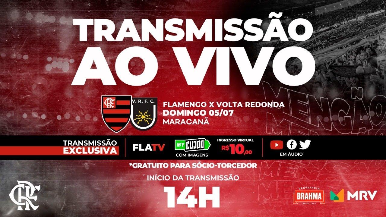 Flamengo x Volta Redonda Ao Vivo - Semifinal Taça Rio