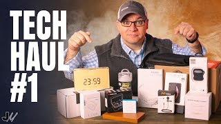 My First Tech Product Haul! Massive Unboxing
