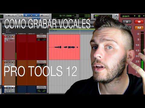 Pro Tools 12 – Como grabar vocales y instrumentos