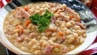 Raw Food Diet Recipes - Navy Bean Soup
