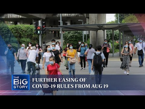 Covid-19: Expert weighs in on further easing of rules in Singapore from Aug 19 | THE BIG STORY