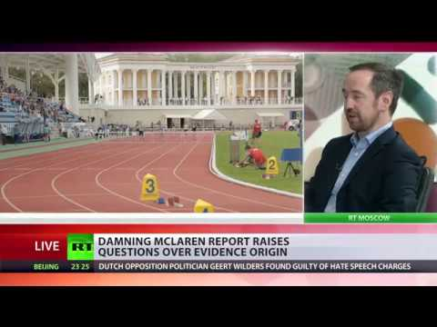 McLaren report claims 1,000 Russian athletes benefited from 'doping conspiracy,' gives no names