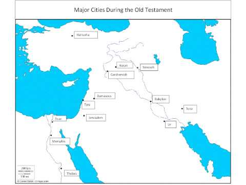 Maps Of The Old Testament
