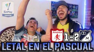 REACCIÓN AMÉRICA vs MILLONARIOS (1-2) Cuartos de final Liga Betplay 2021