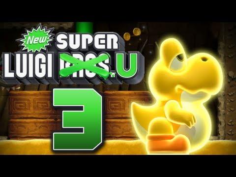 Let's Play New Super Luigi U Part 3: Da brat mir doch einer den Storch nieder!