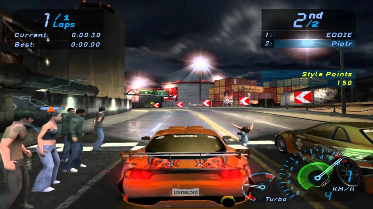 Need For Speed Underground Final Race HD - YouTube