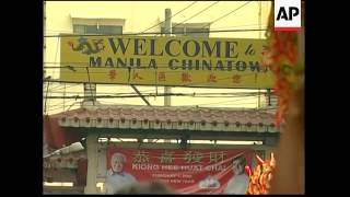 Chinese New Year celebrations in Manila
