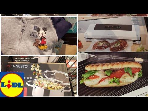 Arrivage Lidl Cuisine Et Enfants Youtube