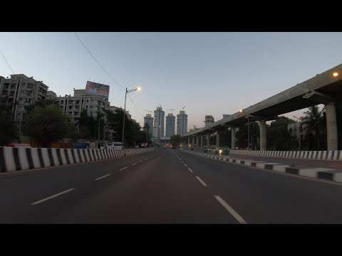 4K Drive On Western Express Highway (South) | Mumbai, IN