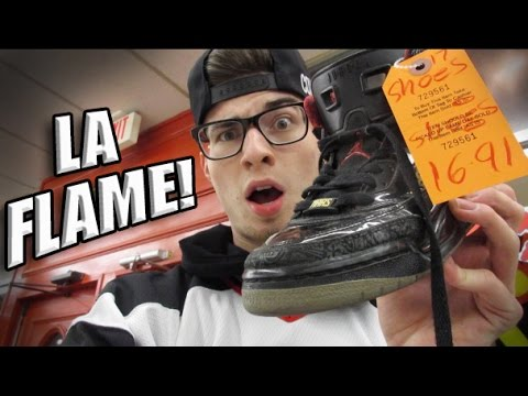 Trip to the Thrift #69 Jordans, Vintage Snapbacks, and Jersey Haul!
