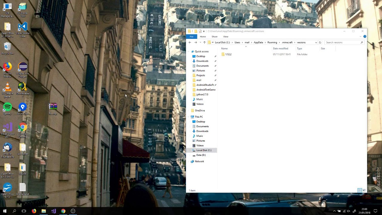 Minecraft appdata folder download downloader