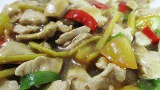 Cara-Cara Memasak Ayam Masak Halia :) ❤ Bahan-bahan ❤ - Minyak - Ayam (Isi) - Bawang Merah - Halia - Air - Sos Tiram - Tepung Jagung - Tomato - Lada ...
