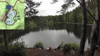 """Fishing Oregon Lakes """"Lost Lake - Nehalem Watershed"""" Detail Lake Review Episode 1"""