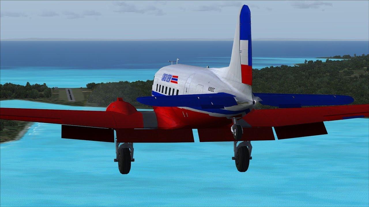 FSX/Flight Simulator X Cargo Crew Mission Pack: 15 Nadi to Namalata