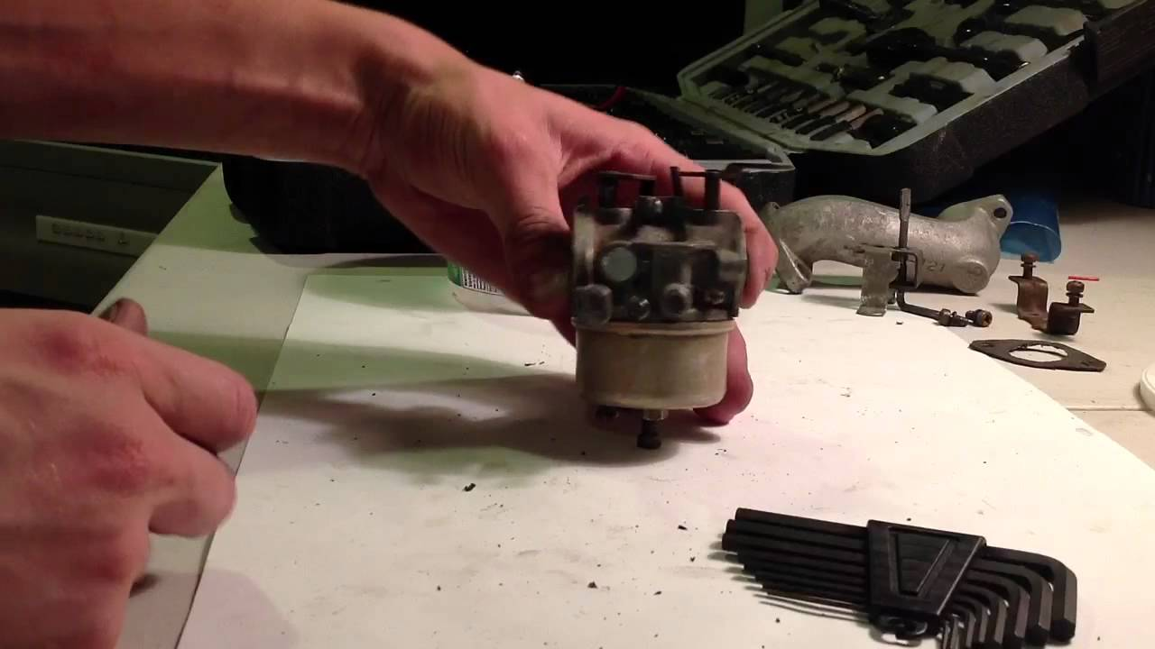 Craftsman 8hp Snowblower Carb Re Build How To