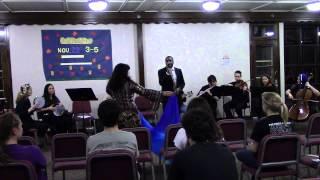 Aziza! performs Nassam Alaynal Hawa