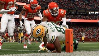 NFL Sunday Night Football - Green Bay Packers vs Kansas City Chiefs Week 8 NFL 10/27/2019  Madden 20