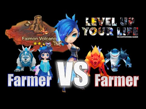 TMG Summoners War: Farmer VS Farmer - Get your XP the best way