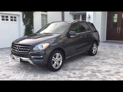 2014 Mercedes Benz ML350 Luxury SUV Review and Test Drive by Bill - Auto Europa Naples