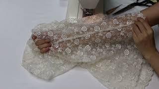 3단계 은손 - 레이스 커튼 재활용 패턴 없이  조끼만…