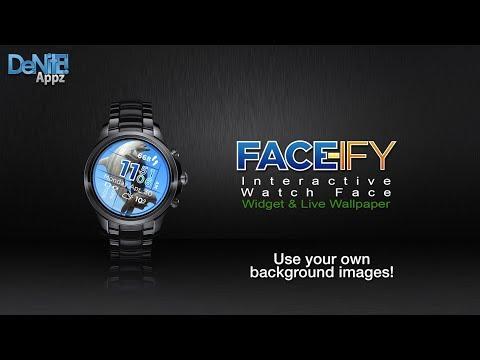 Face Ify Hd Watch Face Widget Live Wallpaper Apps On