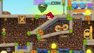 「Angry Birds Find Your Partner Level 1-11 Walkthrough」2
