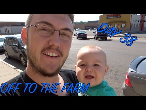 VALLEY CITY, ND & THE FARMHOUSE- Daily Dad Day 38