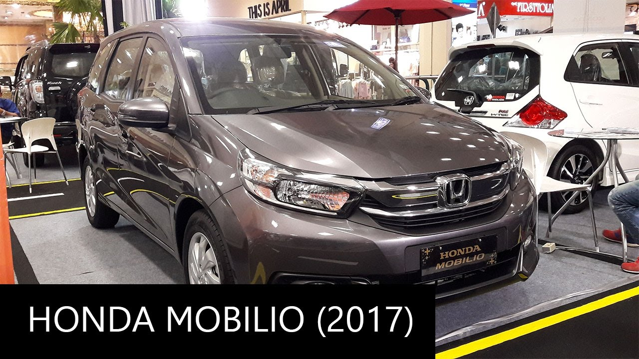 Car Brands Starting With T >> 2017 Honda Mobilio 1.5 E CVT - Exterior and Interior ...
