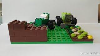 как сделать из лего мини трактор видео для детей бесплатно