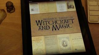 Witchcraft and Magic: Historical Library iPad App