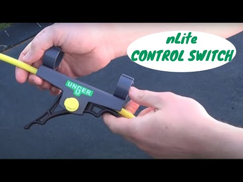 nLite Control On/Off Switch for Water Fed Poles - Product Video - UNGER