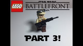 How To Make Lego Star wars Battlefront Weapons Part 3!