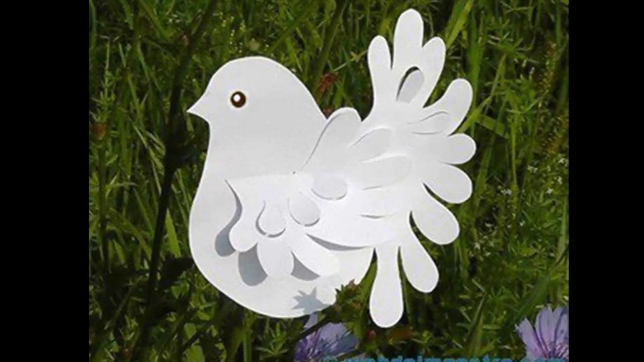 Поделки с голубями своими руками