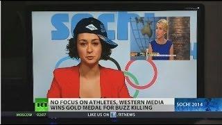 Repeat youtube video Mainstream Media's Sochi Olympics hysteria