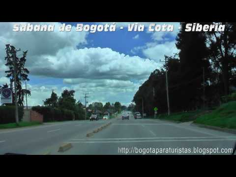 Bogota para turistas - Via Cota - Siberia - HD