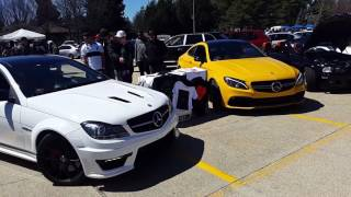 W204 C63 AMG Vs. W205 C63 AMG - Rev Off!!